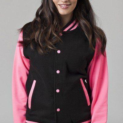 Black - Electric Pink