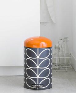 Charcoal - Orange