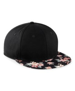 Black - Faded Floral