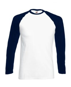 White - Deep navy